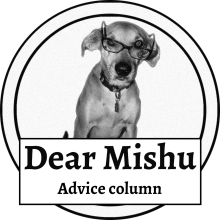 DearMishu Advice Column - logo